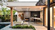 Elektrischer Heizstrahler für die Terrasse