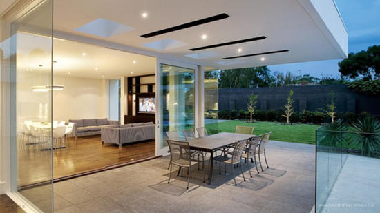 Elektrischer Dunkelstrahler Design von Heatstrip