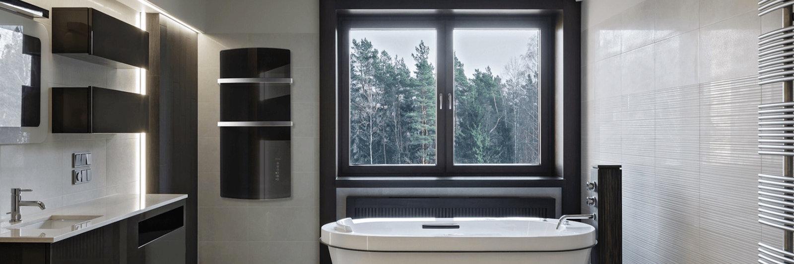 Elektrische Infrarot Badheizung