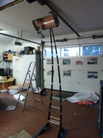 Aufbau des Heizstrahlers Heliosa Giraffa 66