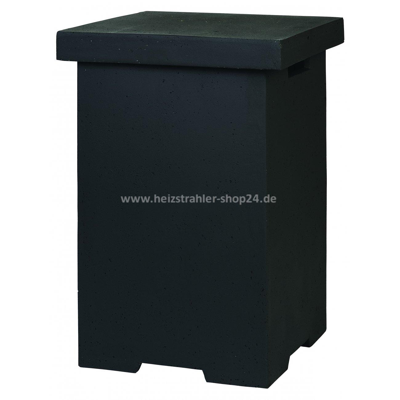 beistelltisch f r propangasflasche f r feuertische von happy cocooning. Black Bedroom Furniture Sets. Home Design Ideas