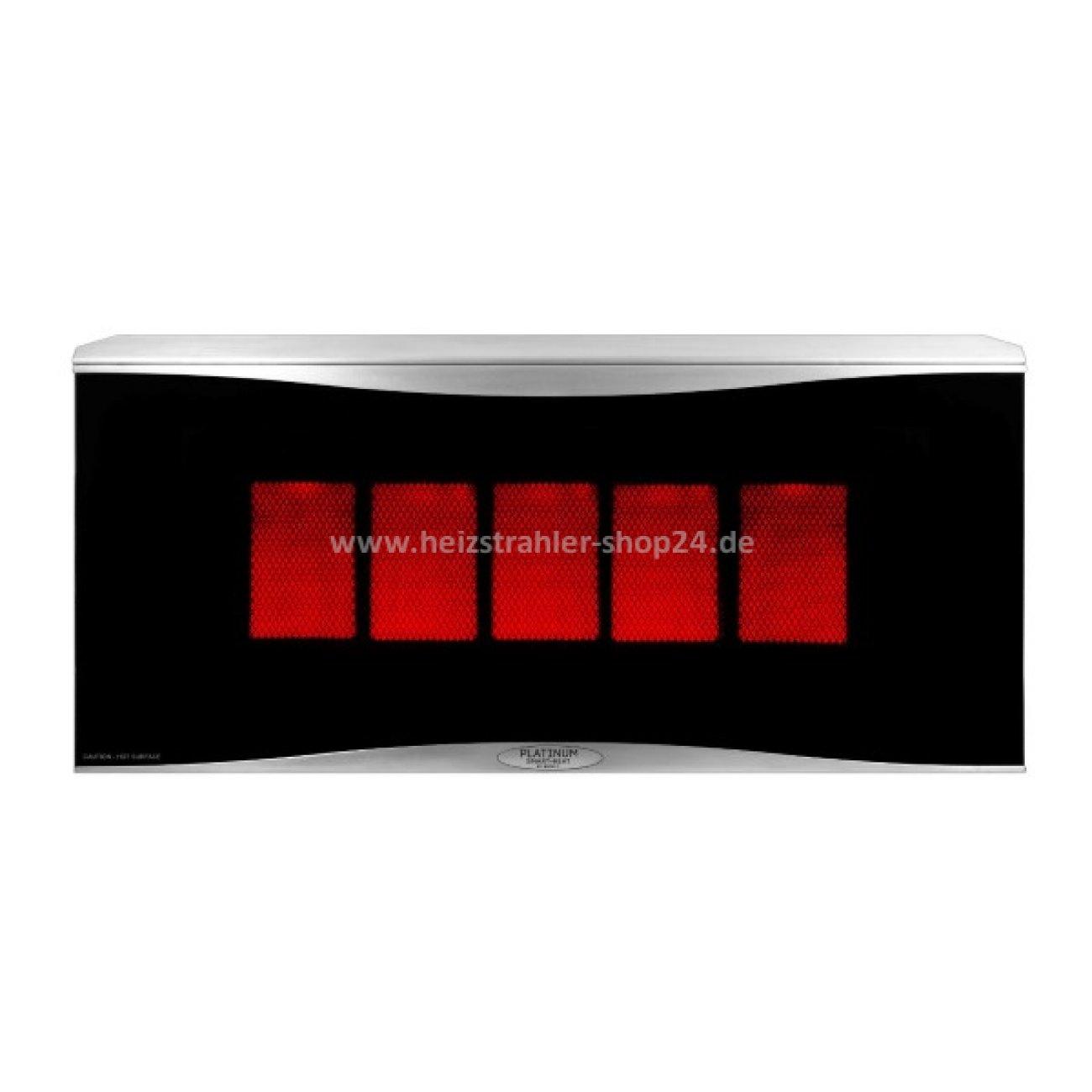 gasheizstrahler platinum von bromic. Black Bedroom Furniture Sets. Home Design Ideas