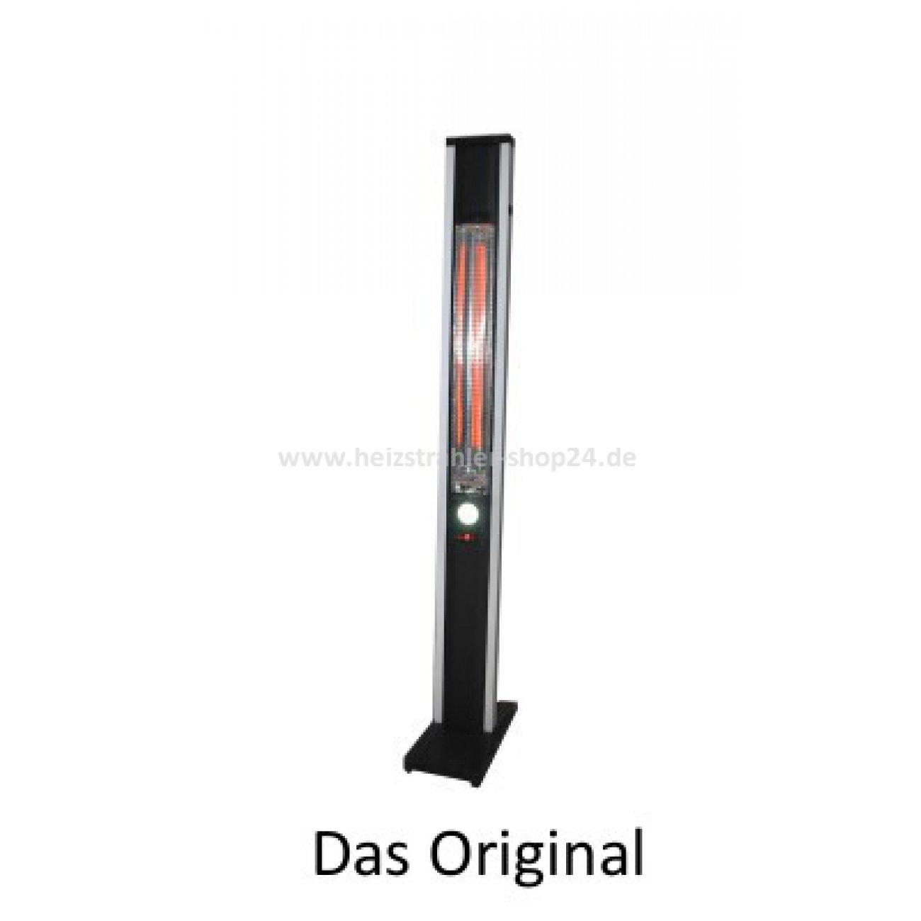 alpina infrarot heizstrahler bali mit schwenkarm. Black Bedroom Furniture Sets. Home Design Ideas
