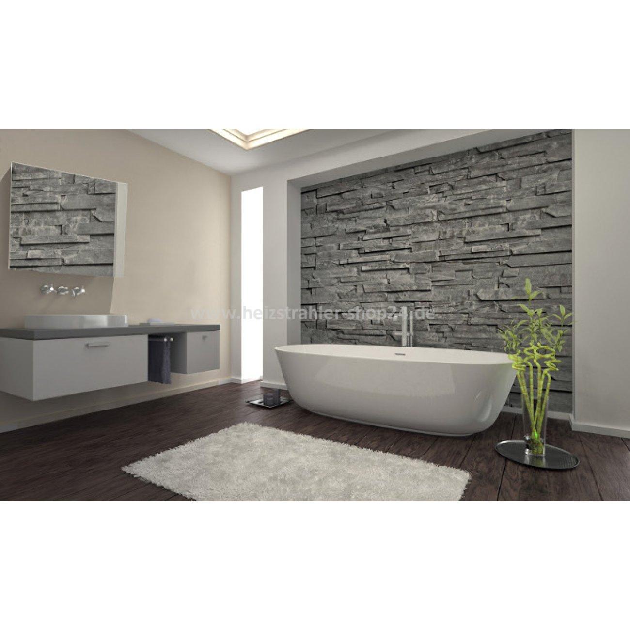 infrarot spiegelheizung mit rahmen von burda. Black Bedroom Furniture Sets. Home Design Ideas