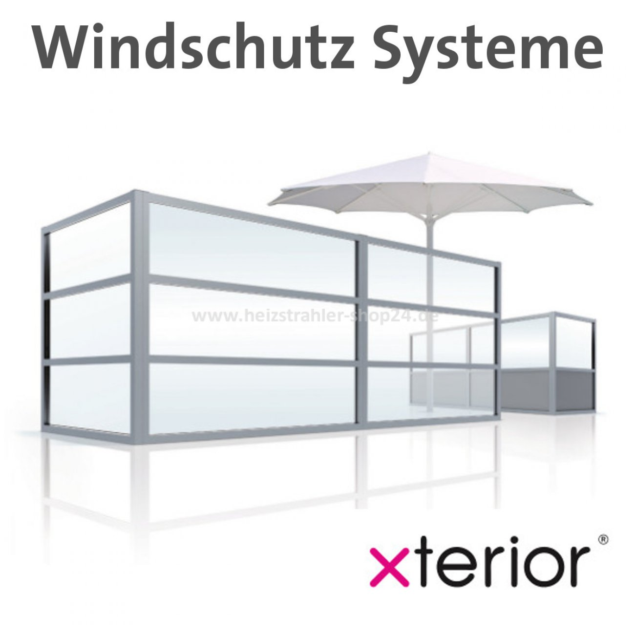 xterior windschutz f r die gastronomie terrasse. Black Bedroom Furniture Sets. Home Design Ideas