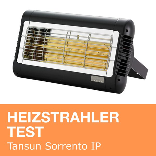 Heizstrahler Test: Tansun Sorrento IP 2000W