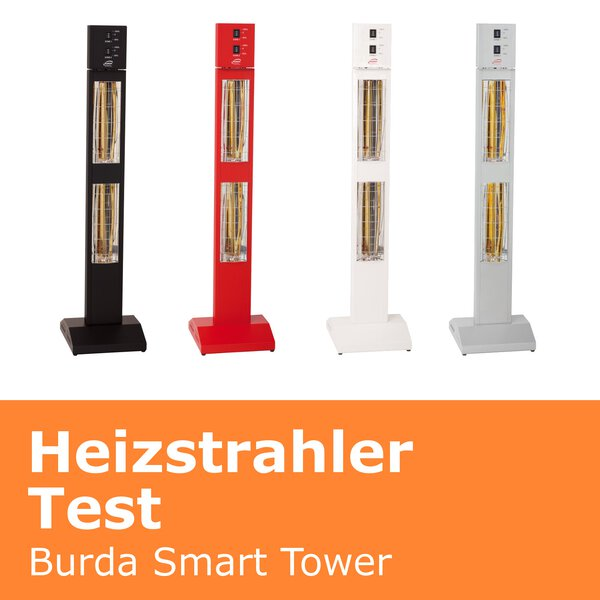 Heizstrahler Test Burda Smart Tower