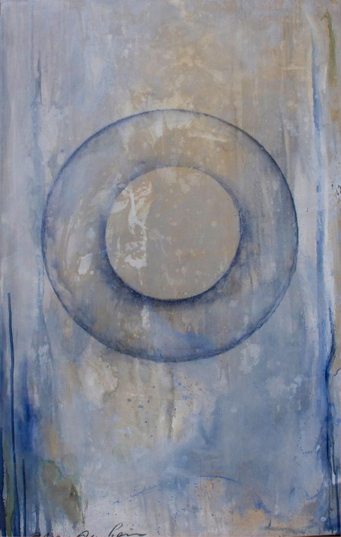 Infrarot Heizung mit künsterlischen Arbeiten von Anna Amrhein